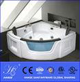 Hs-b027x esquina bañera de acrílico normal de drenaje
