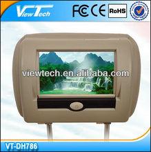 car DVD headrest monitor with Digital TV