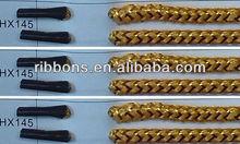gold&silver wire rope paper raffia/paper colored raffia/paper rope