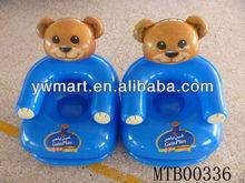 PVC little bear kids inflatable sofa