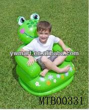 Popular sofa kids/small inflatable frog animal sofa kids