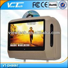 """9""""Portable Digital Touch Screen Car Headrest Dvd player"""