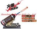 Yepyeni japon altın büyük tabancası Cannon makinası makinalı tüfek yetişkin seks dildo, doruğa makinası dildo; hız: 0-415 süreleri dakikalık