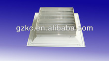 Air grille with damper