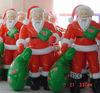 2013 new design PVC gaint inflatable santa claus
