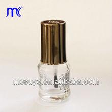 nail polish lid with flat brush