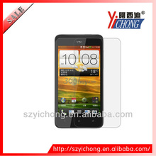 Factory supply screen protector for HTC mobiles, high transparent screen protector free sample accepted!!!