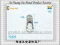 várias cores elegante sling metal mosquetão com anel chave