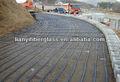 Uniaxial plástico grade geo ppux 50kn/100kn/300kn barragem do rio e o mar dique enhancement
