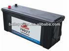 70027 DIN Standard 12v200ah rocket car battery