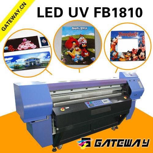 Imprimerie numérique machines en chine utilisés machineimprimante uv à platimprimante 3d cmyk+4w encre numérique machine d'impression couleur