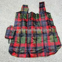 Popular European Foldable Shopping Bag with zipper pocket
