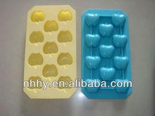 apple shape silicone ice tray