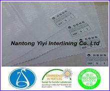 popular pure cotton shirt interlining