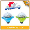 Toy & Game Plastic LED Lights Spinning Peg-top Gyro Gyroscope Toy for Party
