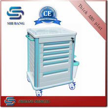 CE & ISO Hot sale hospital utility medical trolley
