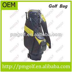 PU Men's Golf Bags With Wheels
