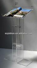 Customized acrylic lectern acrylic lectern pulpit