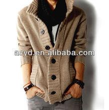 Hot sale Men's cardigan woolen Noble Warm