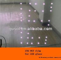 opaque white glass film