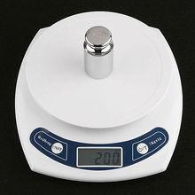 Series 7Kg/1g Electronic Kitchen Scale Multi-Unit White