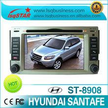 LSQ Star android Car auto radio GPS for Hyundai Santafe with multi-functions,GPS, radio,bt, tv,ipod.newest version.
