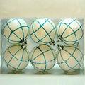 lovely plástico branco bolas de natal