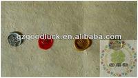 Custom metal peel and stick wax seal/Custom metal fire wax seal sticker