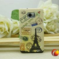 for Samsung Galaxy S2 SII i9100 unique couples case Paris tower design back case plastic hard case