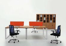 NDMJ203 HOT SALE modern design office workstation furniture with triangle steel legs