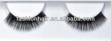 Colorful natural looking thick human hair eyelashes
