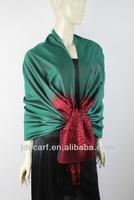 latest hijab designs JDS-131# elegant luster and soft silk hijab