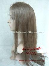 beautiful human hair hand made girl wig