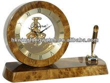 Wooden Desk Clock