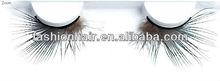 2013 New Fashion OEM Serive False Eyelash Feather Eyelash Fashion Colorful Feather False Eyelashes,no shedding