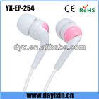 Promtional Earphone case blister pack earphone jack plug electical accessory