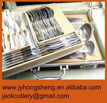 Royal Inox Leather Case Cutlery Set 72pcs