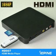 5v 1080p portable hdmi hard disk media player