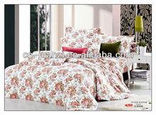 100% cotton reactive printing bedding set flat sheet quilt comforter