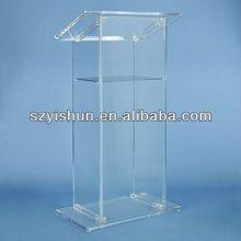Manufacturing customized acrylic lectern acrylic church podiums