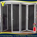 Bi fold porta de alumínio com estilo moderno com as2047 certificado como/nzs2208