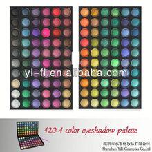 Professional!120-1 color eyeshadow empty compact