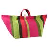 funny flower reusable shopping bag folding nylon bag