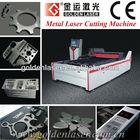 Aluminum Steel Inox Sheet YAG Laser Metal Cutter