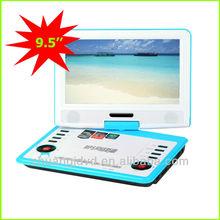 CJ-969 led portable dvd player can read mp4 mp5