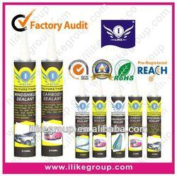 fast dry polyurethane sealant for car window(SGS,REACH,TUV)
