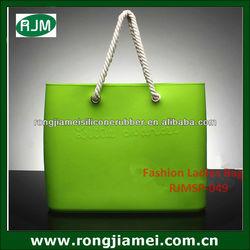 Wholesale Silicone Storage Bag Beach Tote Handbag
