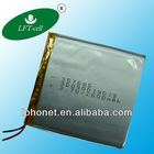 3.7V 2600mAh high quality rechargeable lipo battery pack for cordless phone batteries