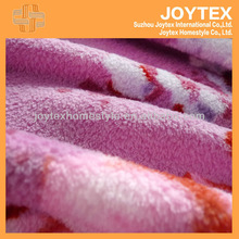 100% Polyester autumn design coral fleece plush sheet/Home Textile Made in China/Quilted Fabric Bedding Set