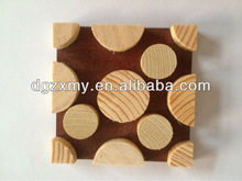 New design wooden base for cup